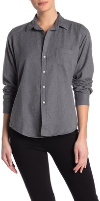 Frank And Eileen Barry Woven Long Sleeve Button Front Shirt