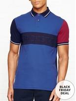 Hackett Logo Polo Short Sleeve Shirt