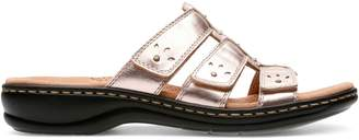 Clarks Collection By Leisa Spring Leather Sandals