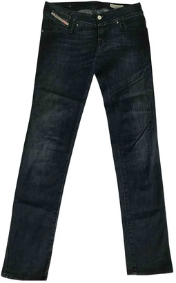Diesel Blue Cotton - elasthane Jeans for Women