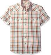 Lucky Brand Men's Short Sleeve San Berdu Western Shirt