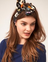ASOS Cat Print Headscarf