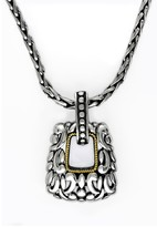 Effy Jewelry Effy 925 Sterling Silver and 18K Gold Pendant