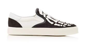 Amiri Skeleton Suede Slip-On Sneaker