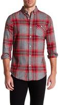 Sovereign Code Hayes Plaid Long Sleeve Regular Fit Shirt