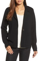 Eileen Fisher Women's Merino Wool Knit Blazer