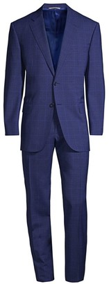 Canali Check Wool Suit