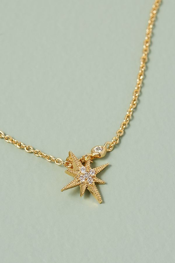 Jewelled Star Necklace