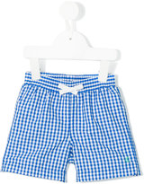 Petit Bateau gingham check shorts - kids - Polyamide/Polyester - 12 mth