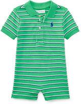Ralph Lauren Striped Cotton Polo Shortall