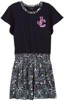 Juicy Couture Knit Galaxy Printed Tee Shirt Dress