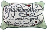 Simply Home Grandmother Love Decorative Tapestry Toss Pillow Made in the USA