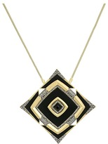 House Of Harlow Lady of the Lake Pendant Necklace