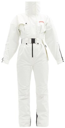 Cordova Teton Padded Upcycled-shell Ski Suit - White