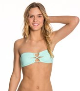 Reef Girls Solid Bandeau Bra Bikini Top 8125330