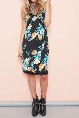 MinkPink Bloom Slip Dress