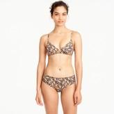J.Crew Drake's® for French bikini top in giraffe print