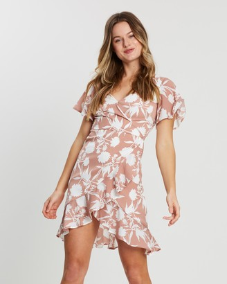 Atmos & Here Abigail Ruffle Mini Dress