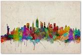 "'New York Skyline' Canvas Print by Michael Tompsett, 16"" x 24"""