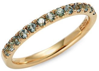 Effy 14K Yellow Gold Green Sapphire Ring
