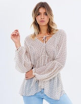Living Doll Chloe Spot Blouse