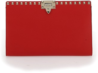 Valentino Rockstud Large Flat Pouch