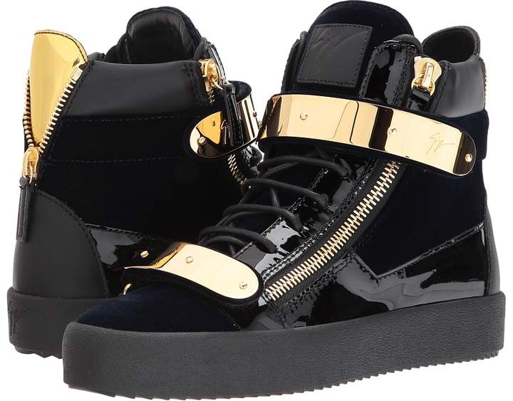 Giuseppe Zanotti May London High Top Embroidered Sneaker Men's Shoes