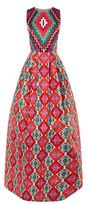 Andrew Gn Sequin Top Kaleidoscope Gown