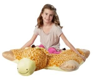 Pillow Pets Signature Jumboz Jolly Giraffe Oversized Stuffed Animal Plush Toy