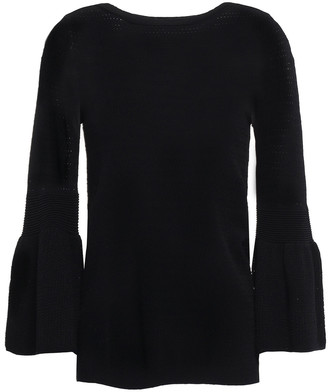 Autumn Cashmere Pointelle-knit Top