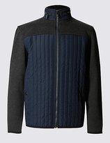 Thinsulatetm Textured Long Sleeve Fleece Top