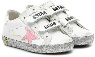Golden Goose Kids Exclusive to Mytheresa Superstar leather sneakers