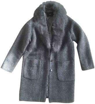 Steffen Schraut Grey Coat for Women