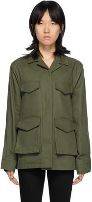 Totême Green Avignon Jacket