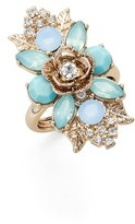 Marchesa Women's Bright Paradise Cluster Ring