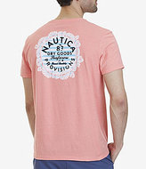 Nautica Dry Goods Provisions Graphic V-Neck Short-Sleeve Tee