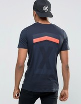 Jack and Jones T-Shirt with Reflective Logo and Back Print
