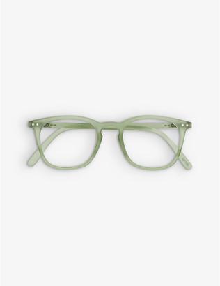 IZIPIZI Reading #E trapezium-frame acetate eye glasses