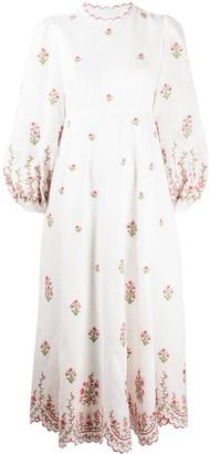 Zimmermann Poppy floral midi dress