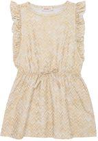 Missoni Zigzag Print Coated Cotton Jersey Dress