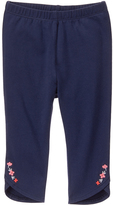 Gymboree Navy Embroidery-Accent Leggings - Infant