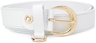 Versace grommet-embellished belt