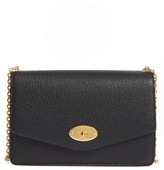 Mulberry Large Postman's Lock Calfskin Leather Crossbody Clutch - Black