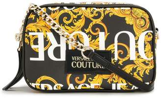 Versace baroque print crossbody bag
