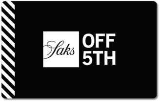 Saks Fifth Avenue Off 5th Black Gift Card