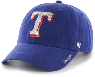 '47 Women's Texas Rangers Sparkle Adjustable Cap