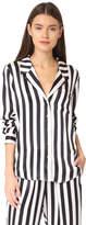 Anine Bing Striped PJ Top
