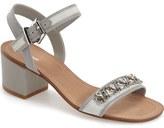 Dune London 'Maisie' Embellished Block Heel Sandal (Women)