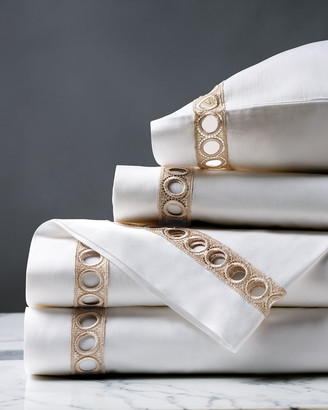 Celine Eastern Accents Champagne Queen Sheet Set