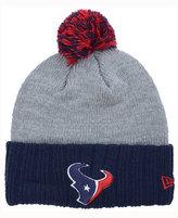 New Era Houston Texans Heather Stated Knit Hat